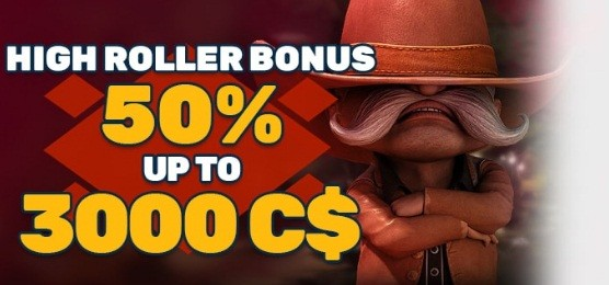 PlayAmo - High Roller Bonus