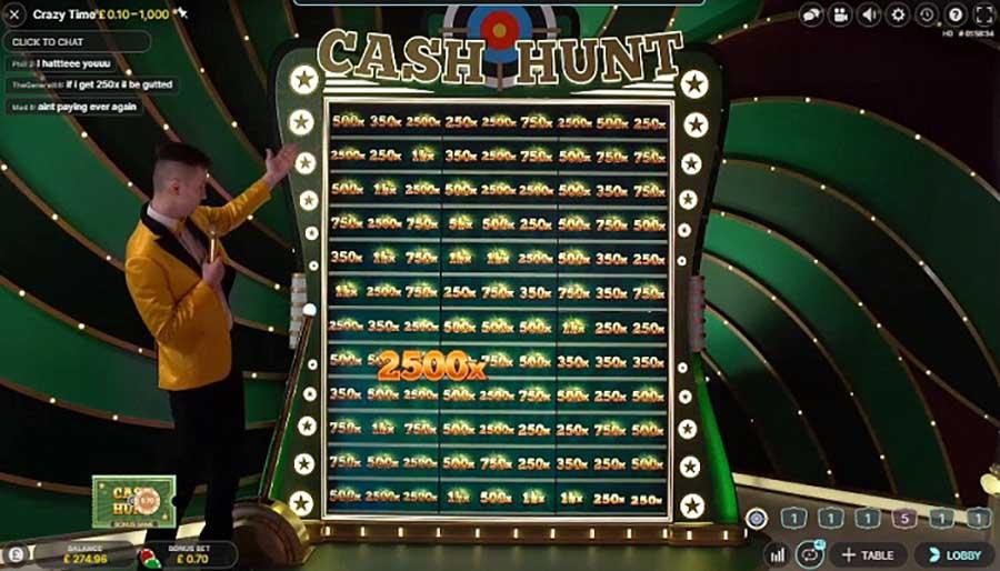 Cash Hunt Bonus crazy time casinofollower