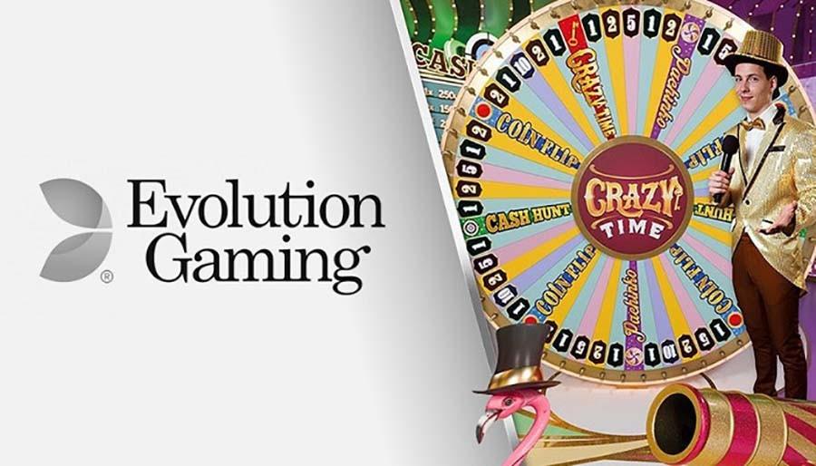 Evolution Gaming's Crazy Time Live casinofollower